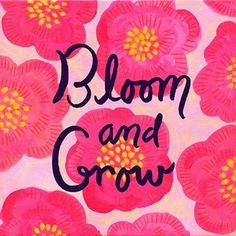 Progression Obsession: Bloom Where You Are Planted