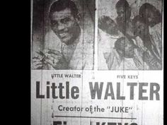 "Little Walter Jacobs (1930 - 1968) changed the Chicago blues sound in 1952 with his bluesharp instrumental ""Juke"", spending eight weeks in the #1 position on the Billboard magazine R charts."