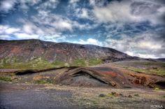 Kleifarvatn region, Iceland. #hdr http://www.morka.fr