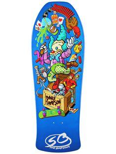 #Santa #Cruz #Simpsons #Bart Toy Box #Skateboard #Deck 10 x 29.5 $59.99