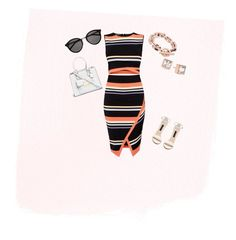 """""""Untitled #20"""" by tieraali on Polyvore featuring Ted Baker, Yves Saint Laurent and Michael Kors"""