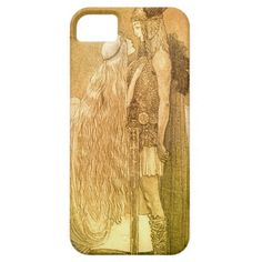 Freyja and Svipdag by John Bauer 1911 iPhone 5 Cover