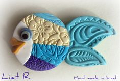clay fish | Polymer clay Fish Magnet | Flickr - Photo Sharing!