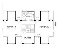 House Plan 62254 Level Three