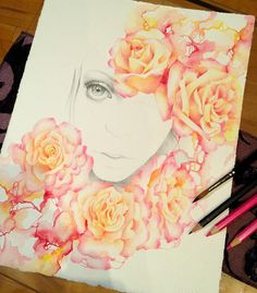 Drawings by Erica Calardo