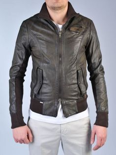 SWORD Giacca in pelle http://www.dipierrobrandstore.it/product/1608/Giacca-in-pelle.html