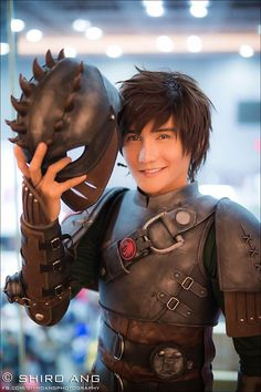 Awesome Hiccup cosplay from HTTYD 2 by Liui Aquino at Comic Fiesta 2014 Photography: Shiro Ang Photography Photo Assistant: Poka Cosplayer