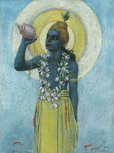 Drucken A2 Kurukshetra Krishna