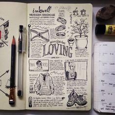 beejaedee | June sketch blogging :) #moleskine #drawing...