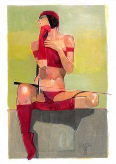 Elektra by Jeff Dekal