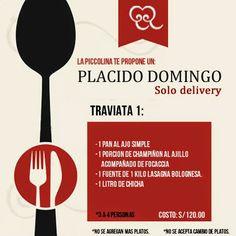La Piccolina Trattoria: 2 Grandes Opciones de Delivery en La Piccolina. La...