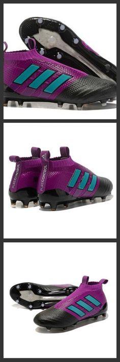 the best attitude 96150 81e3a Nuove Adidas Calcio ACE 17+ Mastercontrol FG Per Uomo Viola Blu Nero
