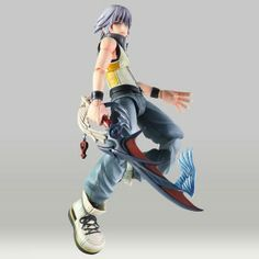 Kingdom Hearts 3D: Dream Drop Distance Figure: Riku (8 in) #RightStuf2013