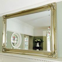 Silver Ornate Mirrors, Classic Mirrors & Stylish Mirrors - Ayers & Graces Online Antique Style Mirror Shop