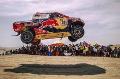 Nasser Al-Attiyah Toyota Rally Dakar 2018 Red Bull Racing, Racing Team, Auto Racing, Pick Up 4x4, Rallye Raid, Toyota Hilux, Rally Car, Grand Prix, Race Cars