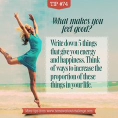 What makes you feel good? #lifebalance #stressfree
