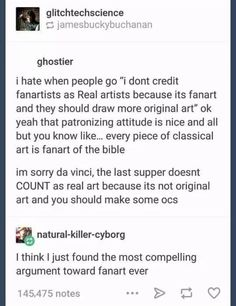 I would tour a fanart gallery. Just because its context isn't as well known as the bible or similar doesn't mean it possesses a lower artistic value.