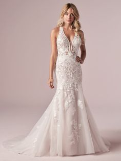 25557 - Elizabetta by Rebecca Ingram - Try this beauty on at Aurora Bridal in Melbourne, FL 321-254-3880