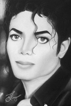 Michael Jackson on canvas. The gifts he had been given by THE GREATEST ARTIST could not be captured by this artist.  However deficient,  still a pretty good likeness.  Thank you.  It helps us to remember HIM and Michael.