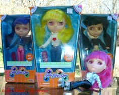 Little Big Eyes Blythe knock off dolls from Street Wise Designs (Photos)