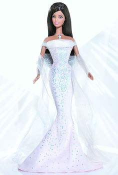 October Opal Barbie Doll - Special Occasion - 2004 The Birthstone Collection -  Barbie Collector