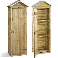 Faire une armoire de jardin | Shelves in 2019 | Armoire de jardin ...