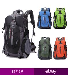 05f0f29f80 Travel Sports Camping Backpack Waterproof Hiking Laptop Bag School Bag  Nylon US