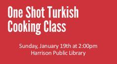 One shot Turkish cooking class 1/19/14