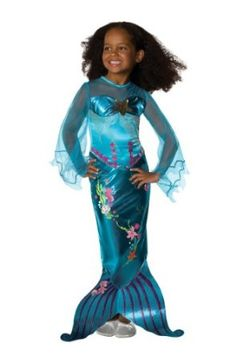 Magical Mermaid Child Costume - Small.  $68.88            Includes dress. Does not include slippers.