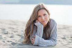 Senior Picture Ideas for Girls On the Beach | To book your senior portraits for Spring 2014 , check out the website ...