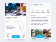 Hotel page by Vitaly Silkin