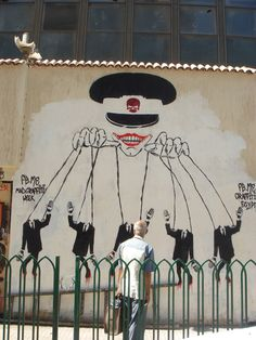 Egyptian protest art.