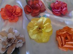 hand made flowers 2