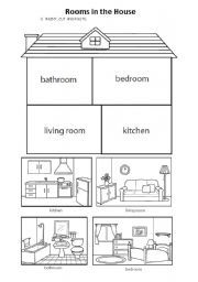 Resultado de imagen para parts of the house worksheets for kids pdf
