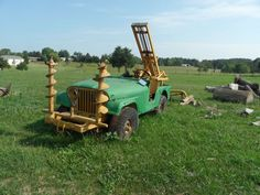 willys jeep farm equipment now that 39 s a cool way to farm jeep stuff pinterest farms and. Black Bedroom Furniture Sets. Home Design Ideas
