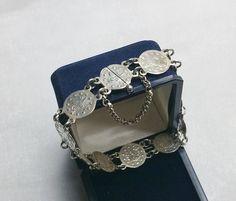 Altes nostalgisches Armband 925er Silber von Schmuckbaron auf Etsy