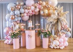 t takes real planning to organize this stunning setup💖💖 Boutique Balloons Store.melbourne Racha Sleiman - Decoration For Home Balloon Backdrop, Balloon Garland, Balloon Installation, Balloon Wall, Baby Shower Themes, Baby Shower Decorations, Birthday Party Decorations, Birthday Parties, Wedding Balloon Decorations