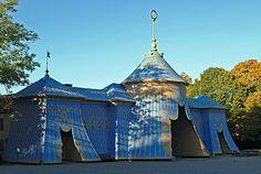 The copper tent in Hagaparken, Haga, Stockholm. Foto: Gomer Swahn Reklam AB/Gomer Swahn.