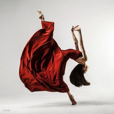 Sultry Red | Flexibility | by Vadim Stein on 500px