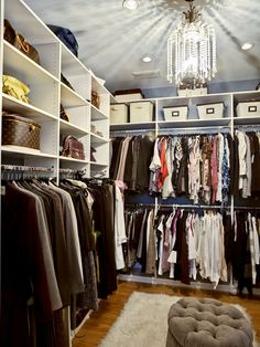 Small Walk In Closet Design, Pictures, Remodel, Decor and Ideas