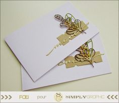 simply graphic: un duo de cartes