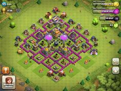 Top 10 Clash Of Clans Town Hall Level 7 Defense Base Design Clash Of Clans Clash Of Clans Hack Clan