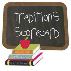 back to school traditions scorecard - see how your family ranks.  from thishappymom.com