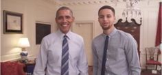 President Obama Teams Up with Steph Curry for 'My Brother's Keeper' PSA (VIDEO) | President Obama, Steph Curry for My Brother's Keeper