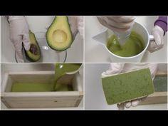COME FARE IL SAPONE NATURALE ALL'AVOCADO - DIY Natural Avocado Soap - YouTube