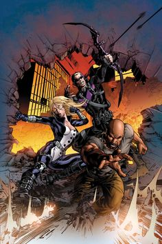 New Avengers by Mike Deodato Jr.