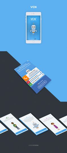 VCN - Virtual Counseling Network UI Design on Behance