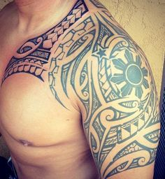 maori tattoos all kar Tribal Tattoos With Meaning, Filipino Tribal Tattoos, Tribal Tattoos For Men, Trendy Tattoos, Tattoos For Guys, Polynesian Tattoos, Samoan Tribal, Ta Moko Tattoo, Hawaiianisches Tattoo