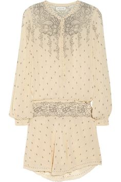 ÉTOILE ISABEL MARANT Risha printed silk-chiffon dress