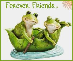 Love is in the air with the Evergreen Enterprises Love Boat Frog Garden Statue . Two bright green frogs float down the stream in a leaf boat, one. Funny Frogs, Cute Frogs, Frog Statues, Garden Statues, Animals And Pets, Cute Animals, Frog Wallpaper, Frog Pictures, Glass Frog